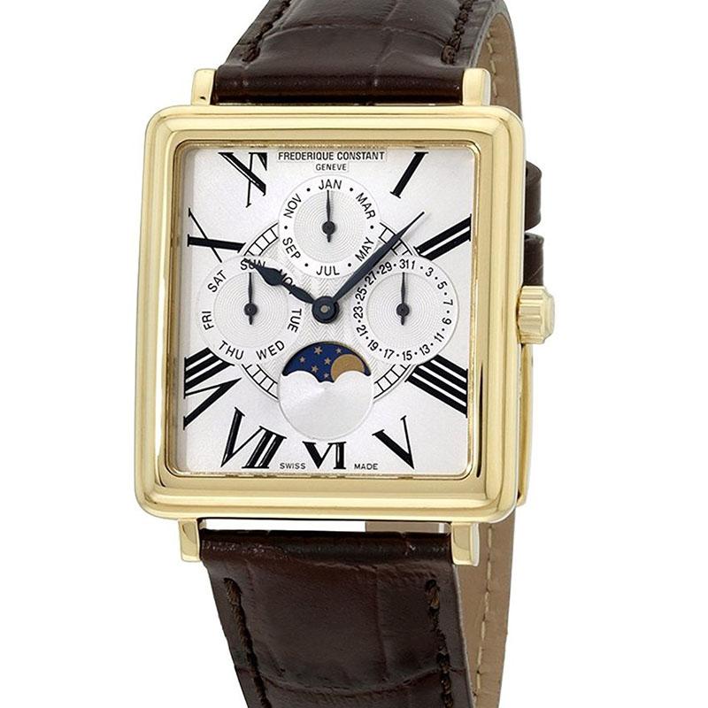 Швейцарские часы Frederique Constant Persuasion Carree Moonphase Triple Calendar Automatic
