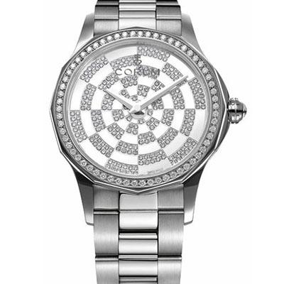 Швейцарские часы Corum Admiral's Cup Legend Diamond Pave Dial Ladies