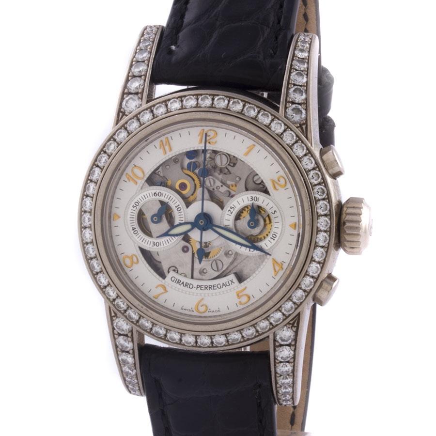 Швейцарские часы Girard-Perregaux Lady Small Chronograph Skeleton
