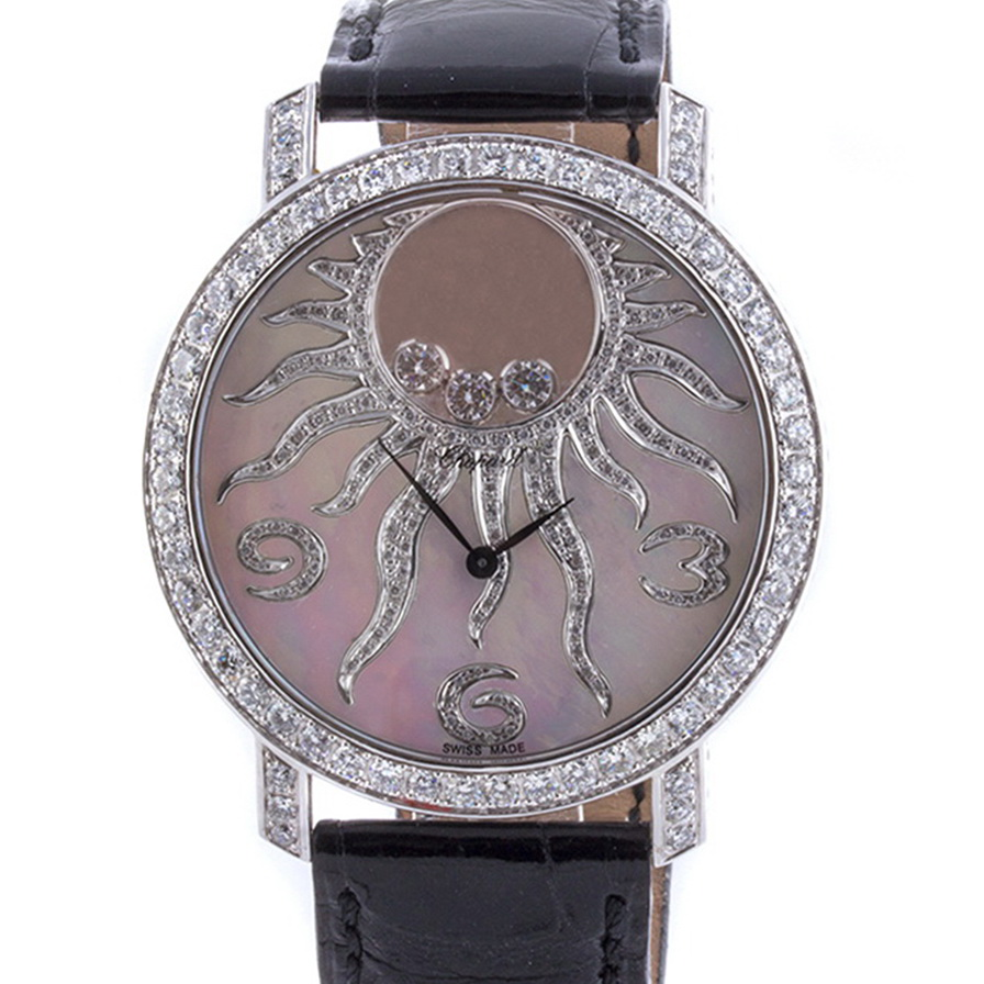 Швейцарские часы Chopard  Happy  Diamonds Happy Sun