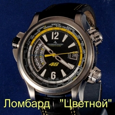 Швейцарские часы Jaeger-LeCoultre  Master Compressor 46 Valentino Rossi