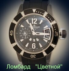 Швейцарские часы Jaeger-LeCoultre  Lady Diving GMT Ceramique