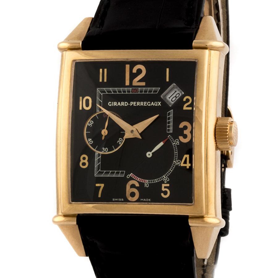 Швейцарские часы Girard-Perregaux  Vintage 1945 18kt Rose Gold