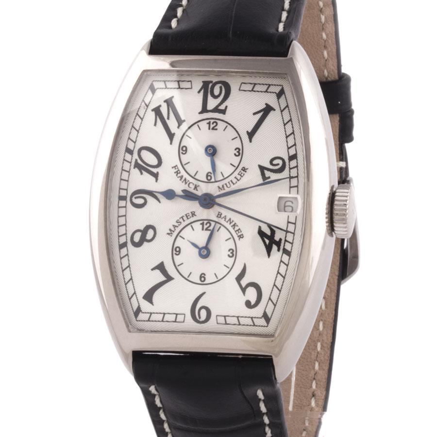 Швейцарские часы Franck Muller  Master Banker White Gold 5850