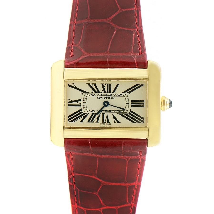 Швейцарские часы Cartier Tank Divan XL