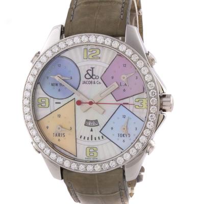 Швейцарские часы Jacob & Co. Five Time Zones 47mm