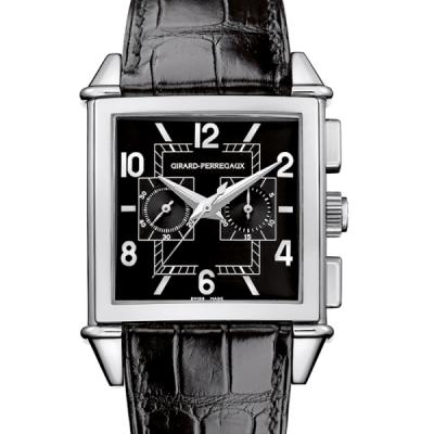 Швейцарские часы Girard-Perregaux VINTAGE 1945 SQUARE - CHRONOGRAPH