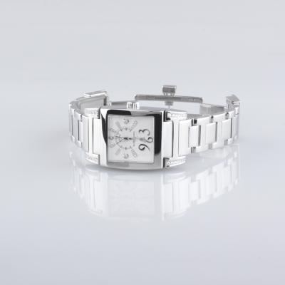 Швейцарские часы de Grisogono De Grisogono Instrumentino  Acier with Diamond Lugs