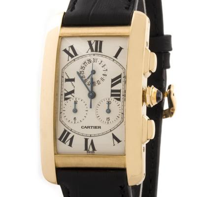 Швейцарские часы Cartier  Tank  Americaine Chronograph
