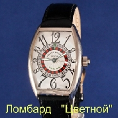 Швейцарские часы Franck Muller   Vegas White Gold