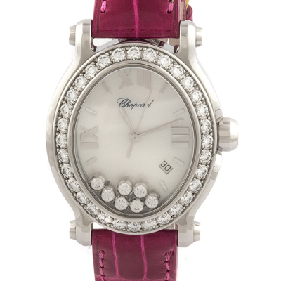 Швейцарские часы Chopard  Happy Sport Diamond Mother of Pearl Dial Steel