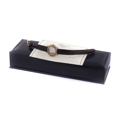 Швейцарские часы Chopard  Happy Sport Full Diamonds Watch 33 mm