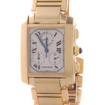 Швейцарские часы Cartier  Tank Francaise Chronograph on Bracelet