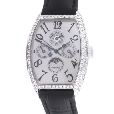 Швейцарские часы Franck Muller  Cintree Curvex Perpetual Calendar 5850 Diamonds
