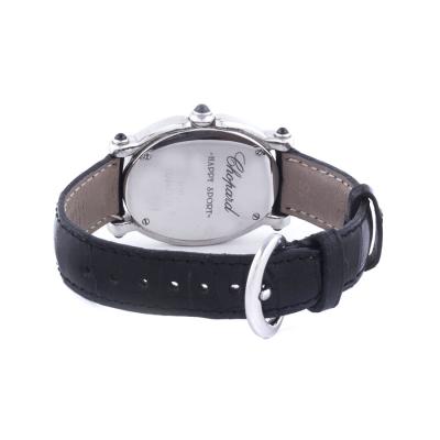 Швейцарские часы Chopard  Happy Sport Oval Steel