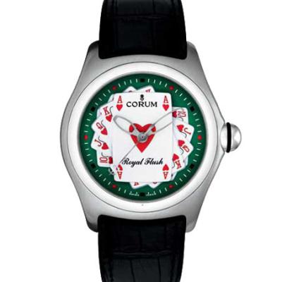 Швейцарские часы Corum Bubble Royal Flush